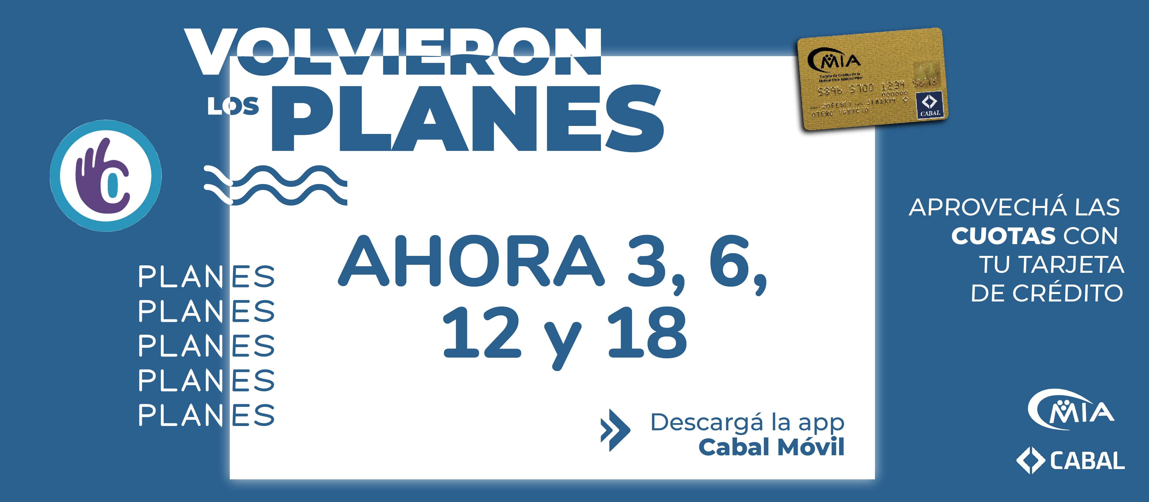 Planes Ahora - Mutual del Club Atlético Pilar