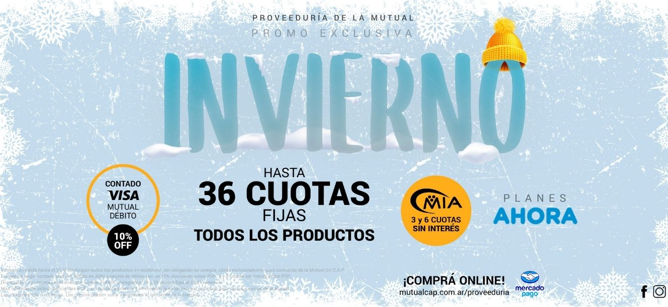 Banner WEB - Promo Invierno 2021 - Proveeduría de la Mutual del Club Atlético Pilar