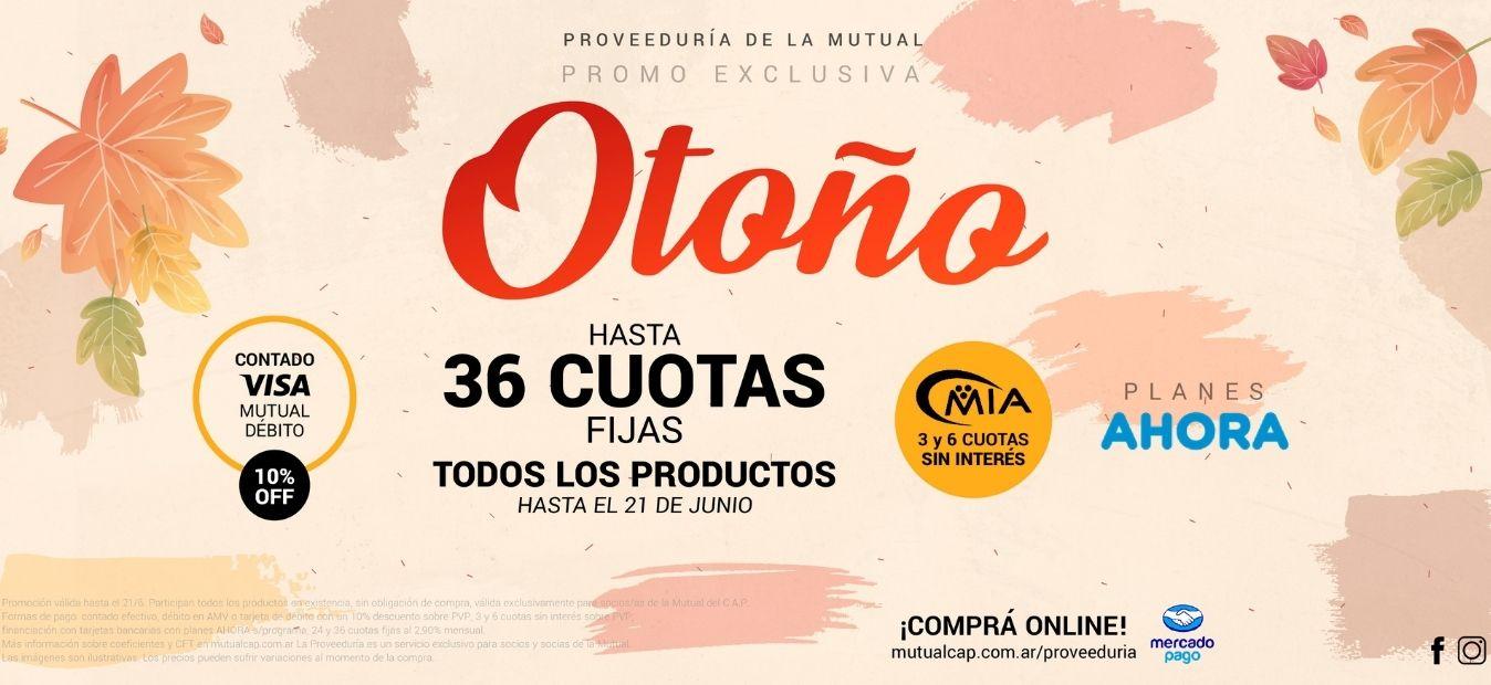 Banner WEB - Promo Otoño 2021 - Proveeduría de la Mutual del Club Atlético Pilar
