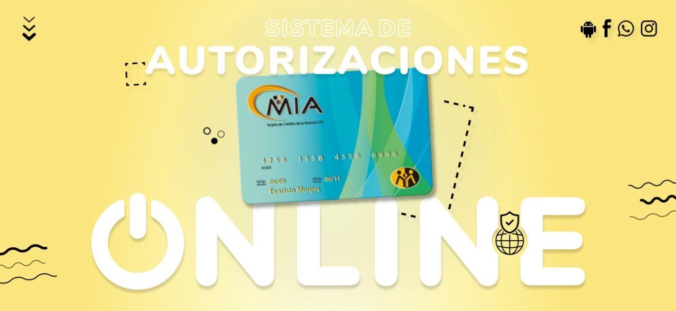 Sistema de autorización de cupones online - Tarjeta de crédito MÍA - Mutual del Club Atlético Pilar