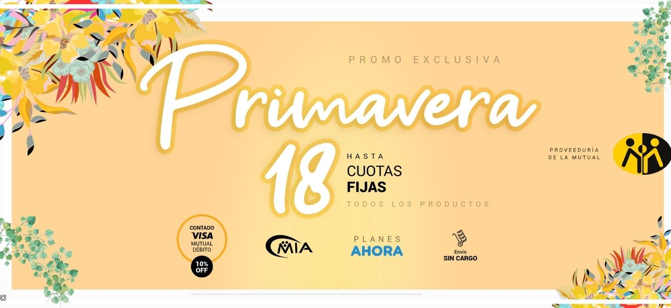 Promo Primavera 2021 - Proveeduría de la Mutual del Club Atlético Pilar