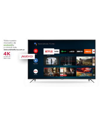 TV RCA 55'' Android Smart 4K X55ANDTV