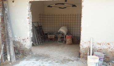 Avances en la obra de la casa central Pilar