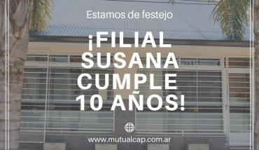 ¡Filial Susana cumple 10 años! - Asociación Mutual del Club Atlético Pilar