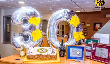 30 años - Torta y regalos - Mutual del Club Atlético Pilar