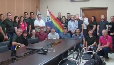 Visita de CRESOL a la Mutual del Club Atlético Pilar - Sala de reuniones